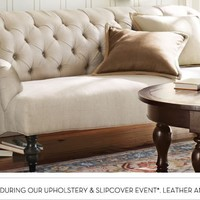 Home Theater Seating, Home Theater Seats & Futon Sofas   Pottery Barn