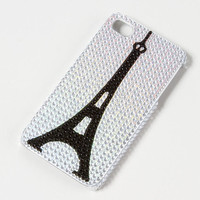 Bling Eiffel Tower iPhone Cover for 4 & 4S