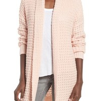 Leith Waffle Knit Cardigan | Nordstrom
