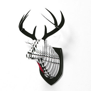 DENY Designs Home Accessories | Madart Inc. Together As One Faux Deer Mount