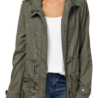 relaxed anorak