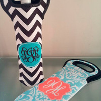 Personalized Wine Bottle Tote- Design your Own Beverage Tote