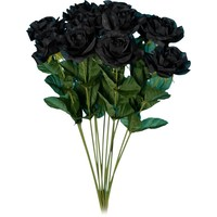 Black Roses bouquet (12 roses)