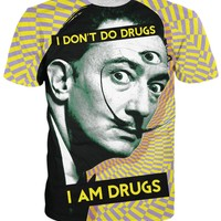 Salvador Dali on Drugs T-Shirt