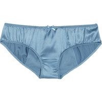 Dolce & Gabbana | Stretch-silk satin briefs | NET-A-PORTER.COM