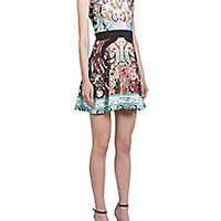 Mary Katrantzou - Sirene Printed Ponte Dress - Saks Fifth Avenue Mobile