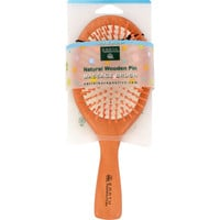 Earth Therapeutics Natural Wooden Pin Massage Brush Large - 1 Brush