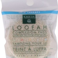 Earth Therapeutics Loofah Complexion Pads 3 Pack