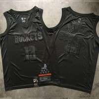 Houston Rockets 13 James Harden MVP Black Swingman Jersey