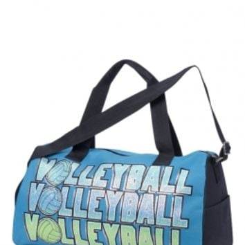 Volleyball Glow In The Dark Sports Duffle | Girls Totes & Duffles Bags & Luggage | Shop Justice