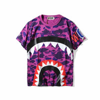 Summer Bape 4 Colors Short Sleeve Tee