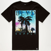 Blvd Imagine Mens T-Shirt Black  In Sizes
