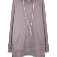 Laced Hoodie – CURATED