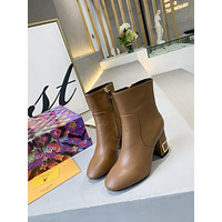 lv louis vuitton trending womens men leather side zip lace up ankle boots shoes high boots 191
