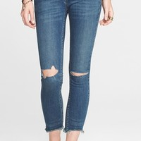Women's Free People Destroyed Skinny Jeans ,