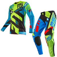 NAUGHTY 360 Divizion Motocross Suit Set Motocross ATV Dirt Bike Off-Road Race Gear Pant & Jersey Combo