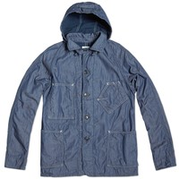 Post Overalls Lined Hooded Sweetbear Jacket