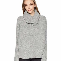 ROMEO & JULIET COUTURE Off the Shoulder Knit Sweater