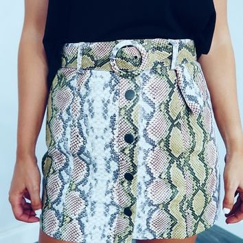 Slithering Past You Skirt: Multi