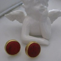 CORAL Earring - GOld Filled Nr.2
