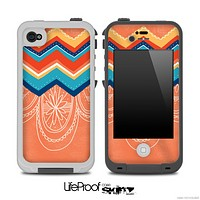 Dreamcatcher Colorful Chevron Pattern for the iPhone 5 or 4/4s LifeProof Case