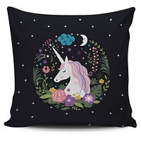 Unicorn Dreams Pillow Cover