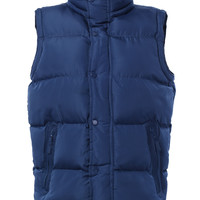 LE3NO Mens Down Puffer Vest Jacket