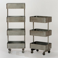 Jayden Metal Shelf Units - World Market