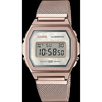 Casio - A1000MCG-9 Vintage Collection Light Rose Gold Watch