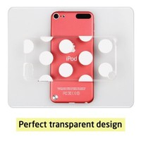 iPod Touch 5th Case, ESR Fancy Series Hard Clear Back Cover Snap on Case With Cherovn Pattern for iPod Touch 5 5th Generation (Zagz)