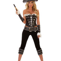Rouge Pirate With Pants Costume   Sexy Clothes Womens Sexy Dresses Sexy Clubwear Sexy Swimwear   Flirt Catalog