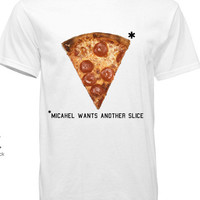 5SOS 5 Seconds of Summer Pizza Michael Clifford Tshirt