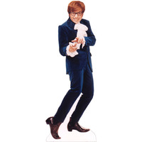 Austin Powers Blue Suit Cardboard Standup