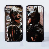 Catwoman and Batman Couple Case for Apple iPhone 6 Plus 4 4s 5 5s 5c 6