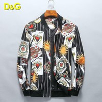 Dolce&Gabbana Fashion Casual Cardigan Jacket Coat
