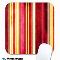 Vintage Striped Skinned Mousepad