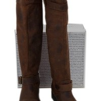 Jeffrey Campbell Jennet Exclusive Tall Moto Boot Brown