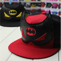 batman hip-hop baseball cap flat hat couples cap