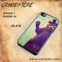 Hello Bear For Iphone 4/4S Case Gift Present - Multiple Choice Material