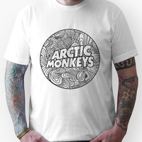 Arctic Monkeys - Swirls Logo T-Shirts & Hoodies