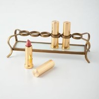 Vestige Lipstick Holder by Anthropologie in Gold Size: One Size Vests