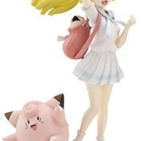 Kotobukiya Pokemon Center Original Lively Lillie and Clefairy Ani Statue