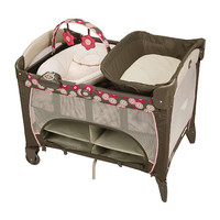 Graco Pack 'n Play with Newborn Napper Station DLX Play Yard - Faith
