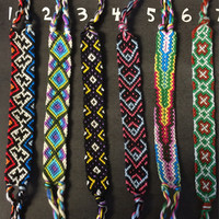 Handmade Woven Friendship Bracelets #3 - Can be CUSTOM MADE with your colors