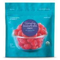 Organic Frozen Red Raspberries 10 oz - Simply Balanced™