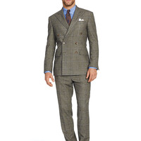 Polo Double-Breasted Wool Suit