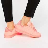 Adidas | adidas Originals Stan Super Colour Sun Glow Trainers at ASOS