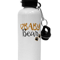 Baby Bear Paws Aluminum 600ml Water Bottle