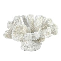Small White Coral Decor