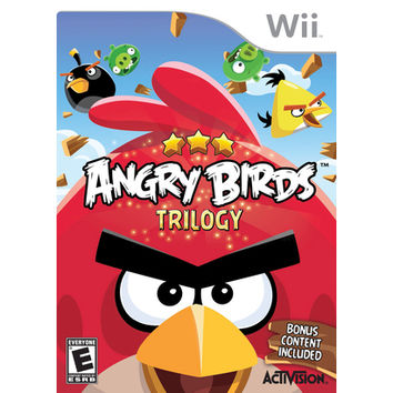 Angry Birds: Trilogy (Nintendo Wii)